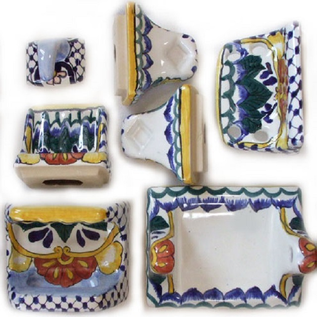 talavera accessories and decorative accents