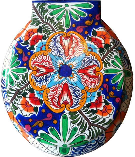 decorative toilet seat from Mexico