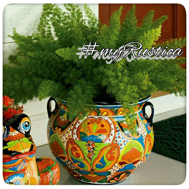 talavera flower pots and planters